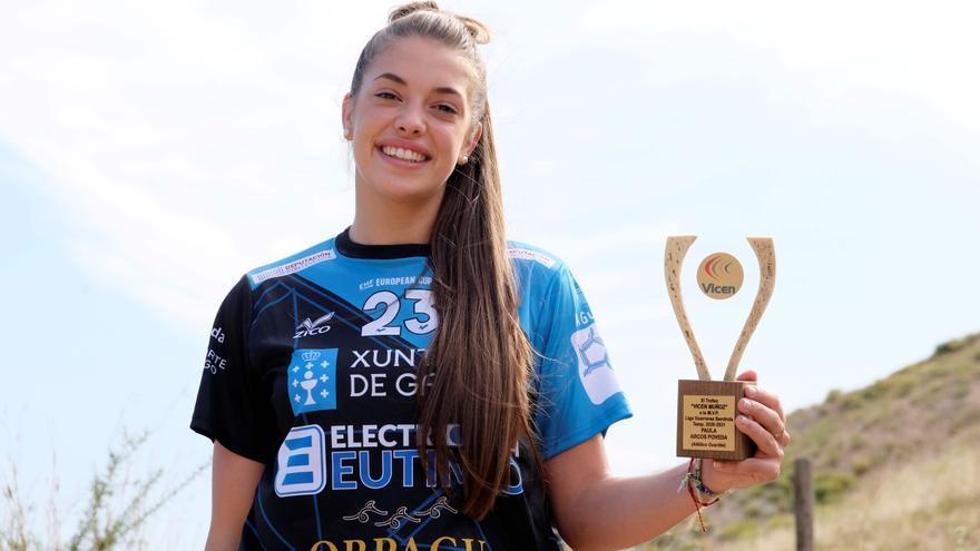 El Guardés renueva a Paula Arcos, la MVP de la Liga