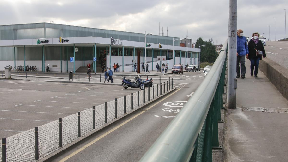 La estación de Sanz Crespo