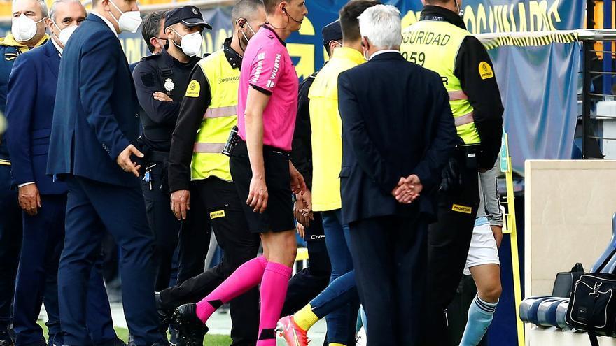 ¡Dos partidos a Mario y Rulli tras el desastroso arbitraje del Villarreal-Celta!
