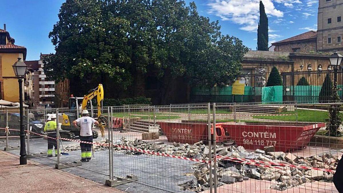 Reparación de las calles del Águila, en el Antiguo, y de Belarmino Cabal