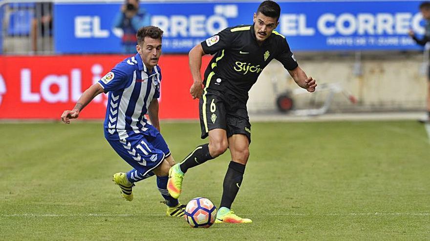 Ibai Gómez, en la agenda del Sporting