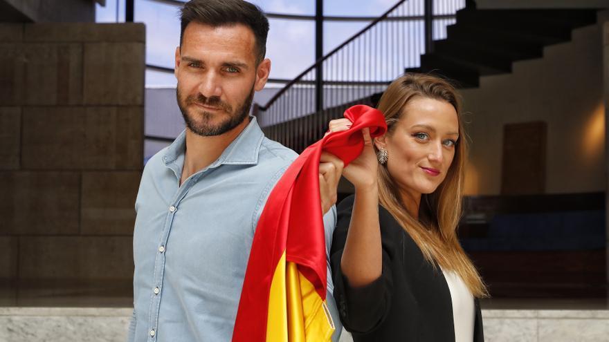Saúl Craviotto y Mireia Belmonte, confirmados oficialmente como abanderados españoles en Tokio 2020