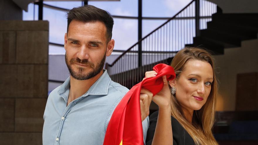 Saúl Craviotto y Mireia Belmonte serán los abanderados olímpicos en Tokio