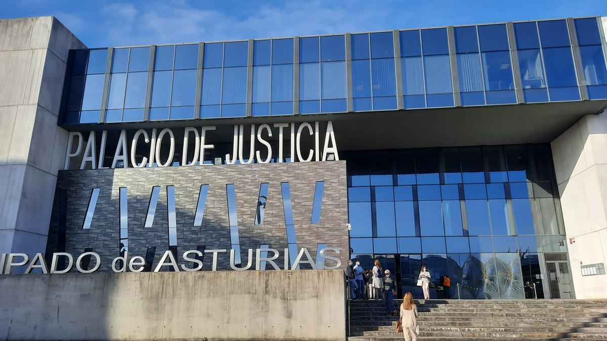 Palacio de Justicia de Gijón.