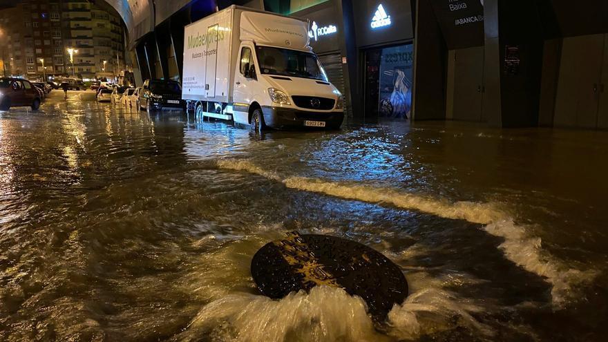 El viento y la lluvia causan casi 70 incidencias en Galicia, la mayoría en A Coruña