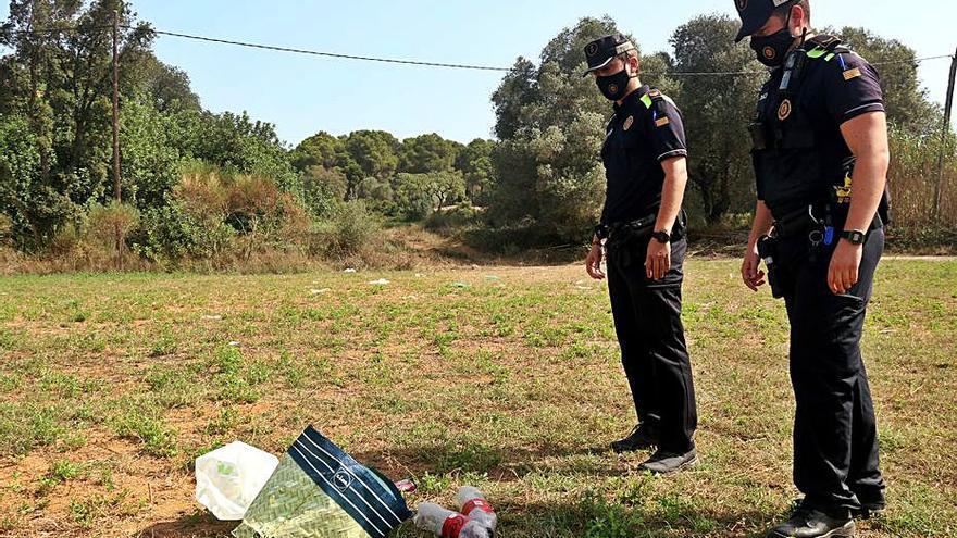 La pressió policial  redueix els botellots  a la Costa Brava