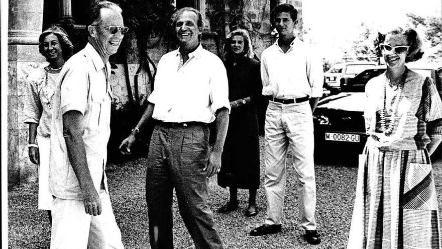 Marivent, capital del mundo con Juan Carlos I