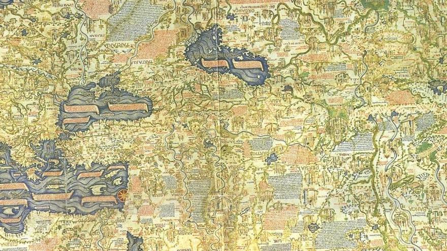 El Ateneo mostrará el mapamundi más importante de la Edad Media