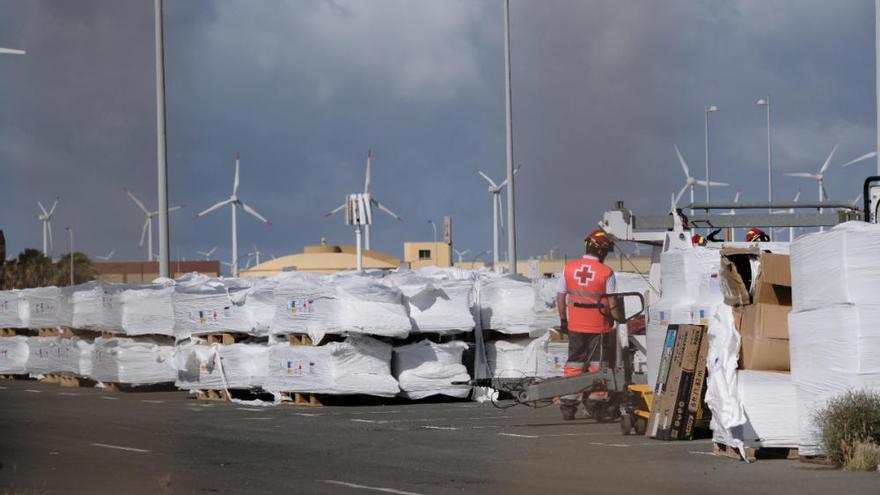 Arinaga contará con una instalación temporal de acogida de migrantes para 900 personas