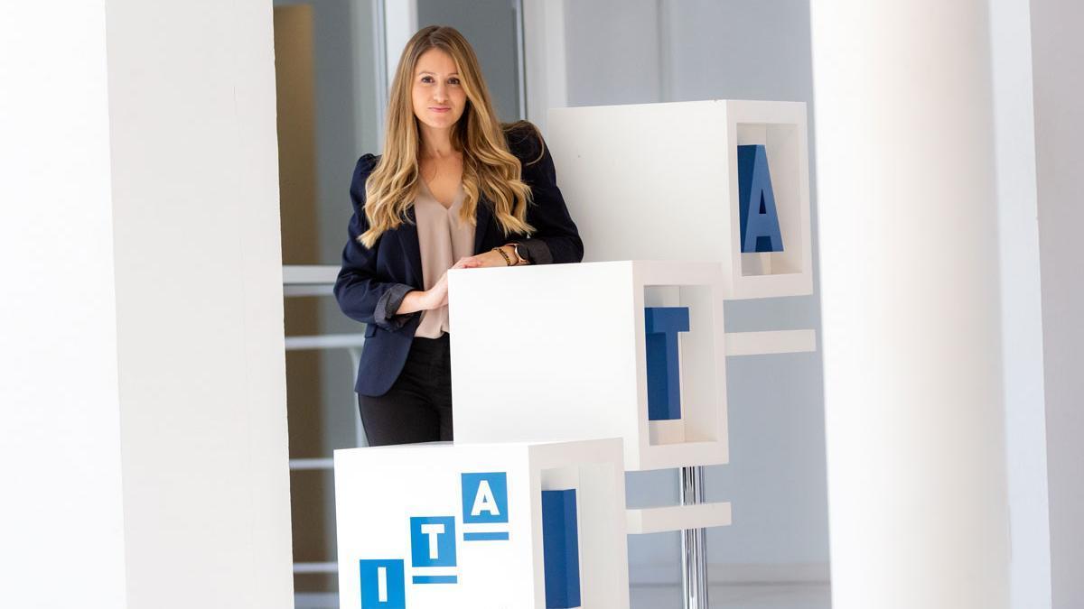 Esther Borao. Directora del Instituto Tecnológico de Aragón - ITAINNOVA