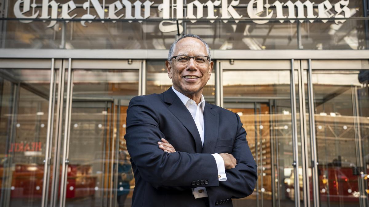 Dean Baquet, editor en jefe del New York Times