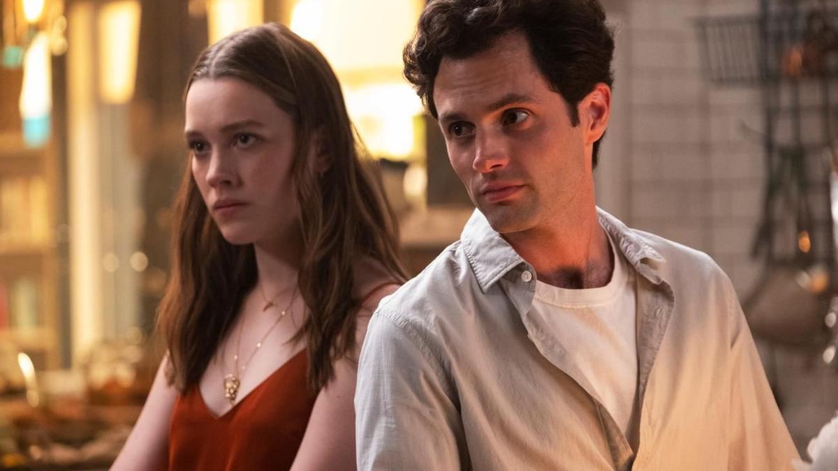 Una imagen de la temporada 3 de 'You'.