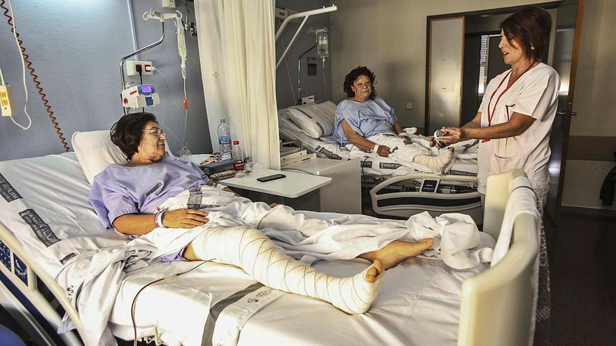 Traumatología encabeza las listas de espera para operarse en los hospitales de la provincia