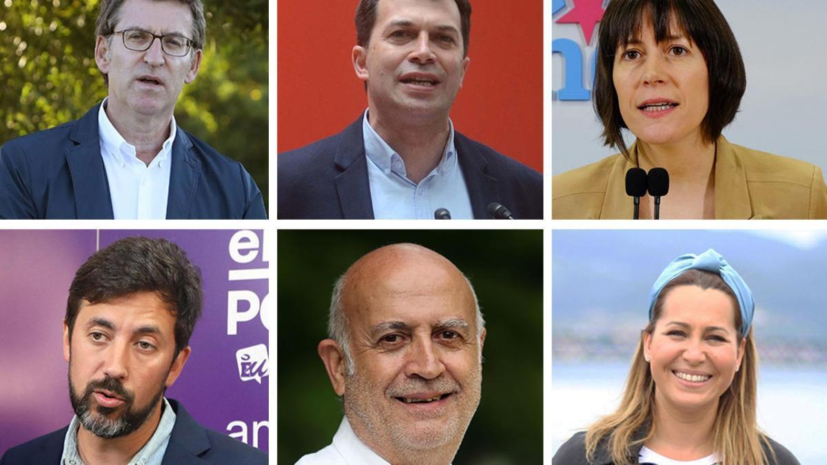 Conoce a los candidatos que se presentan a las elecciones gallegas 2020