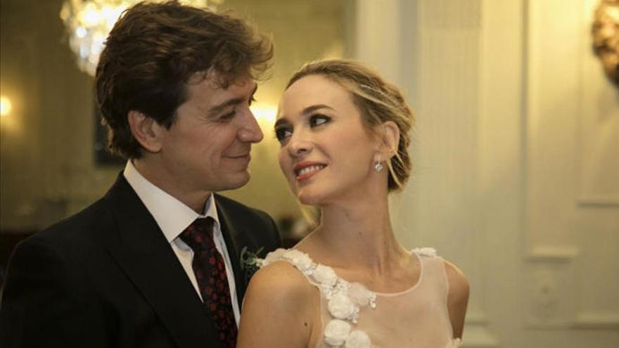 Marta Hazas confiesa cómo es trabajar con su marido, Javier Veiga