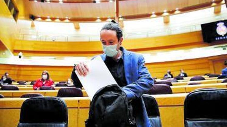 La llei electoral de Madrid obliga Iglesias a avançar la seva sortida del Govern