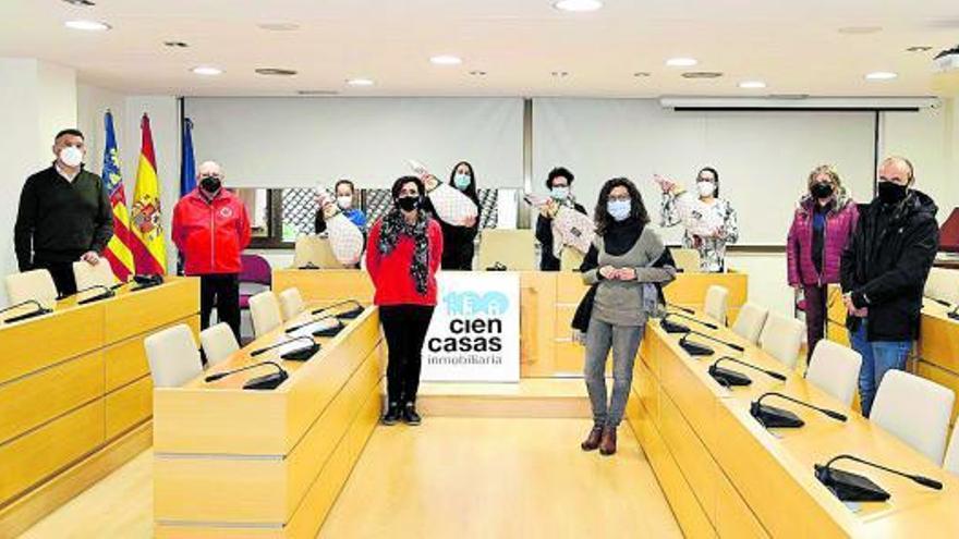 Paiporta entrega cuatro jamones como premios de la San Silvestre virtual
