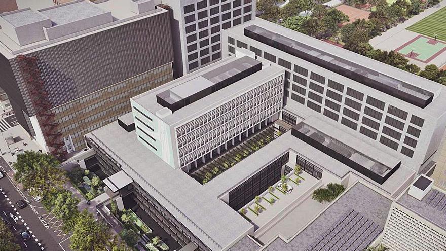 Un edificio sostenible, eficiente e innovador para las consultas externas del Hospital Clínico