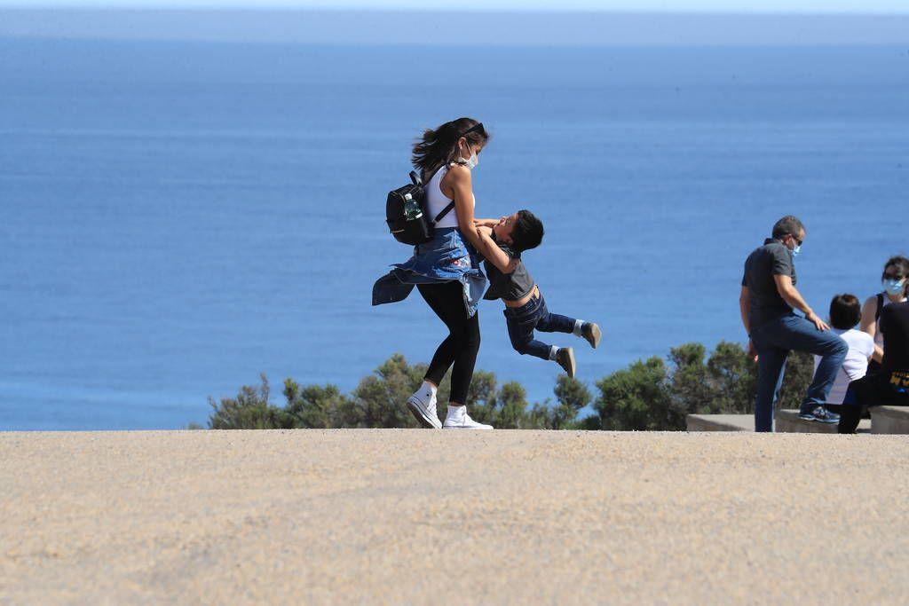 Así estaban hoy Cabo de Palos y La Manga