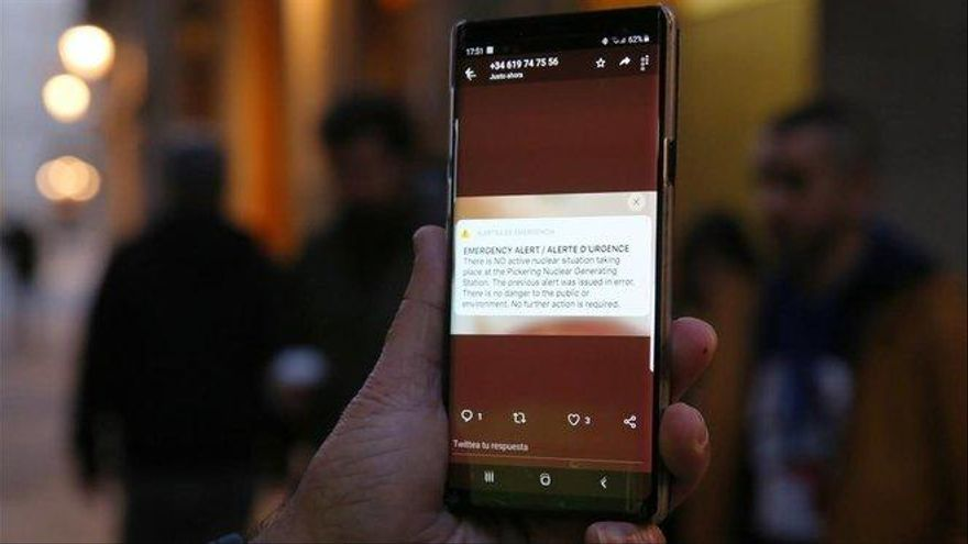 España ultima las alertas masivas de emergencias a los móviles