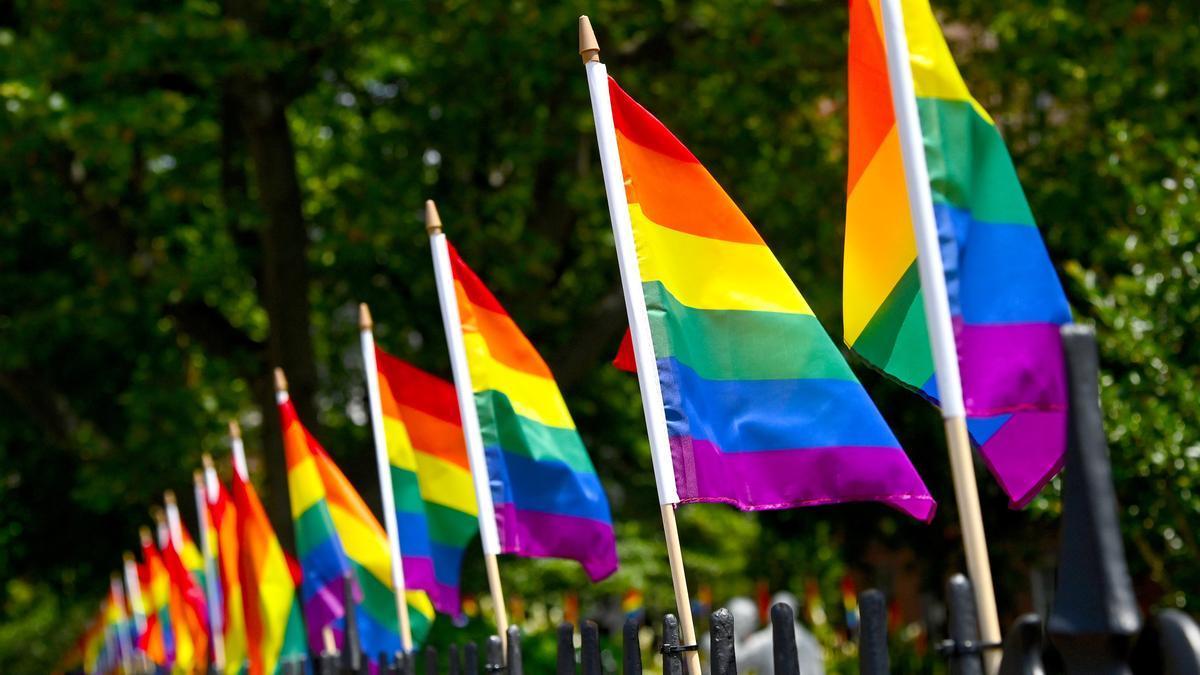 Banderas LGTBI.