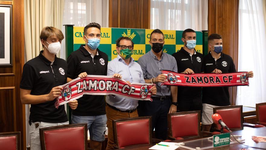 El Zamora CF exhibe los nuevos talentos que permite la subida del Caja Rural en su apuesta por el club