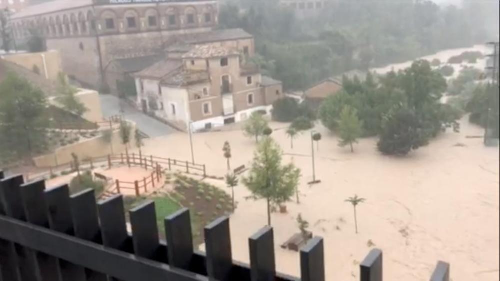 Pluges torrencials al sud-est d'Espanya