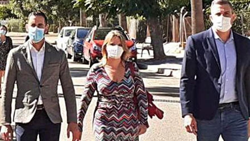 El vicepresidente Bielsa recorre la Ribera Baixa