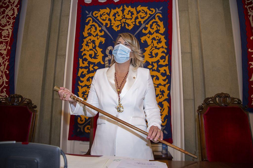 Investidura de Noelia Arroyo como alcaldesa de Cartagena
