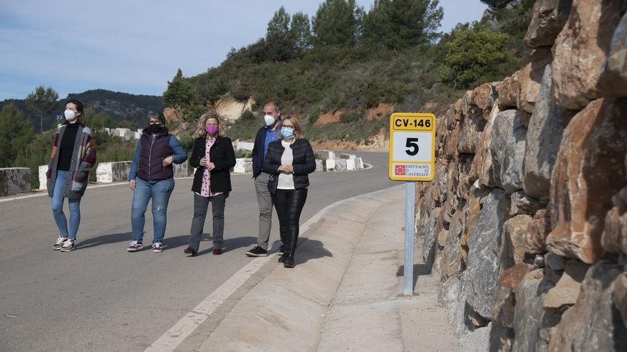 Diputación invierte casi 5 millones al año para mejorar las carreteras de Castellón