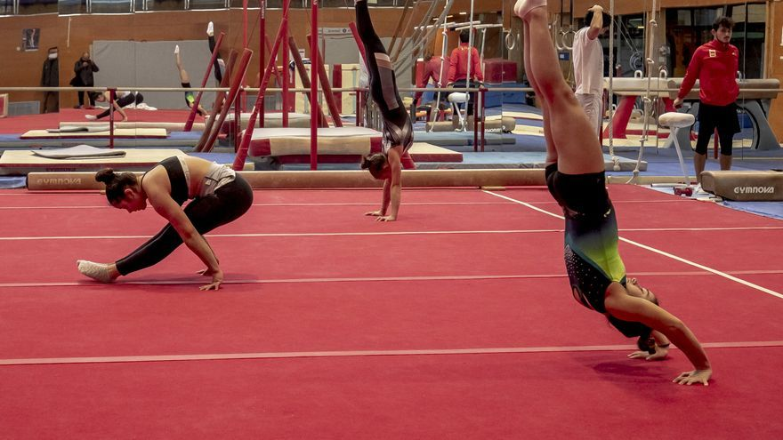 Los deportistas de élite reanudan la actividad en el Centre de Tecnificació