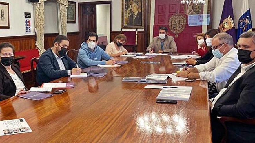 Reunión de la Comisión Especial Técnica de La Laguna (CETI). | | E.D.