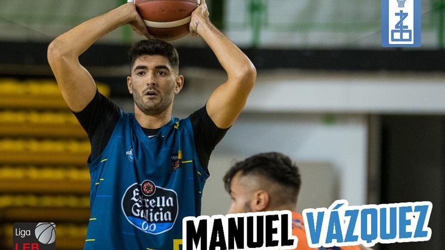 Manu Vázquez, un refuerzo de lujo para el CB Zamora Enamora de LEB Plata