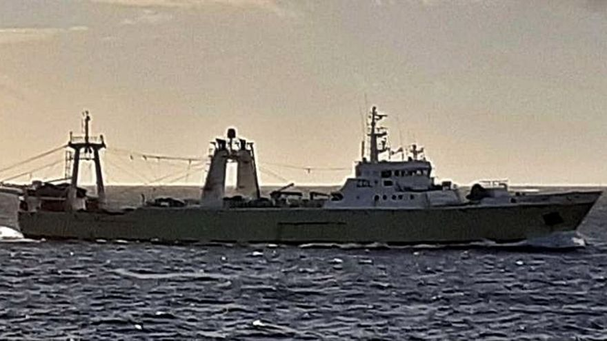 La flota inicia la campaña en Malvinas