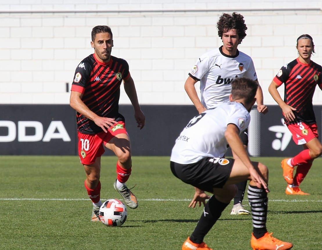 Las imágenes del Valencia Mestalla - Hércules CF