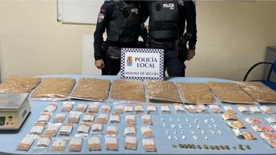 Detenido en Molina por vender cocaína y tabaco ilegal en su tienda