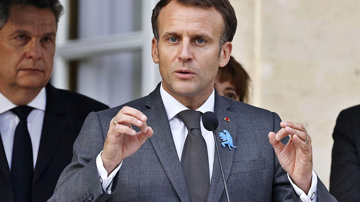 Macron va alertar contra el que va anomenar «la internacional del conservadorisme». | EFE