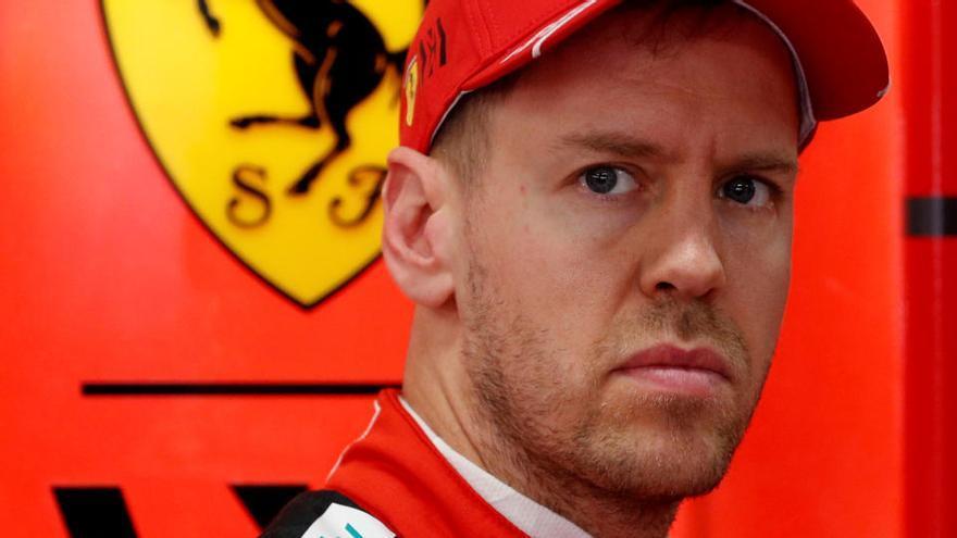 Sebastian Vettel no seguirà a Ferrari la temporada que ve