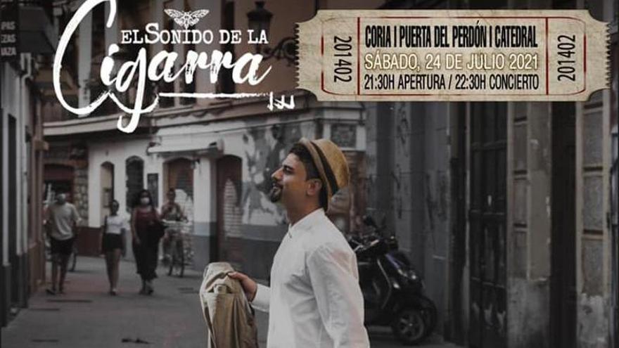 El Sonido de la Cigarra ofrecerá un concierto el 24 de julio en Coria