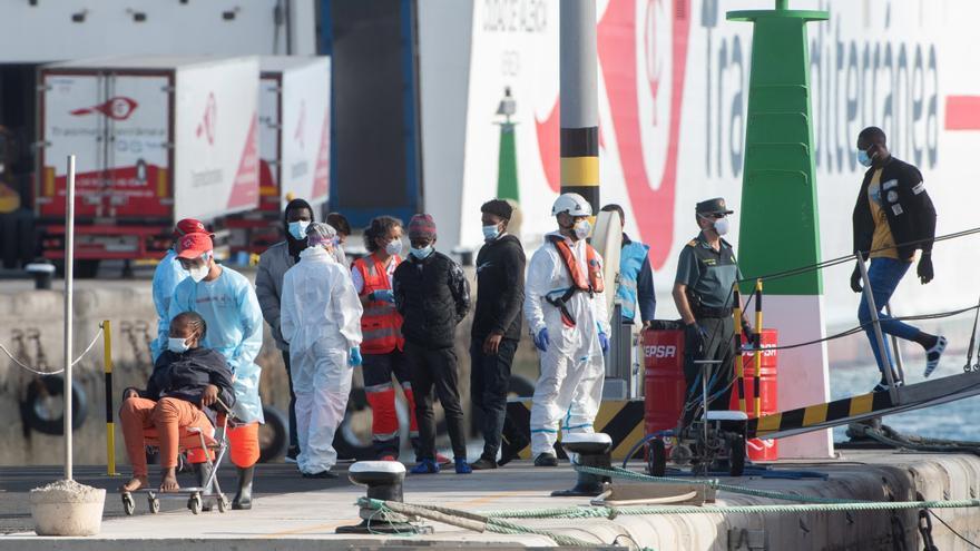 Arriban tres pateras con 127 personas  a bordo en las últimas 72 horas