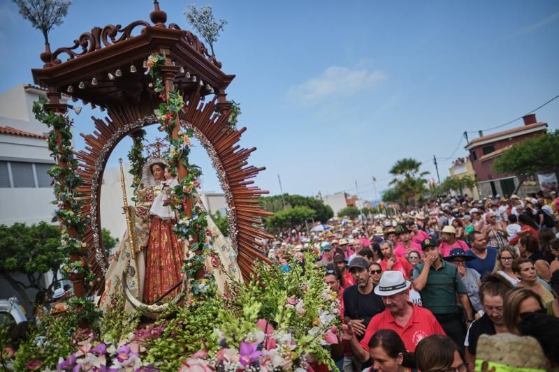 Subida de la Virgen del Socorro