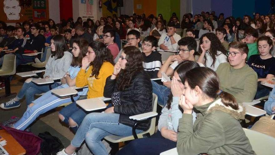 El Francisco Asorey, único instituto de O Salnés que participó en el informe PISA