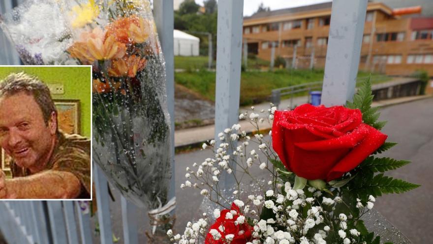 """Decenas de amigos y familiares despiden al conserje fallecido del IES Monte Naranco: """"Gracias por el respeto y el cariño a nuestro Antonio"""""""