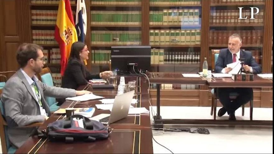 Plan de desescalada en Canarias | Reunión telemática de Torres con NC