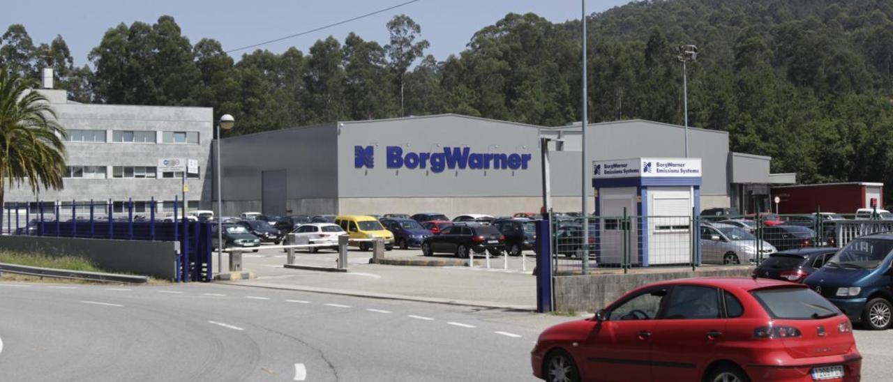 Vista de la factoría viguesa de Borgwarner en Zamáns. // J. Lores