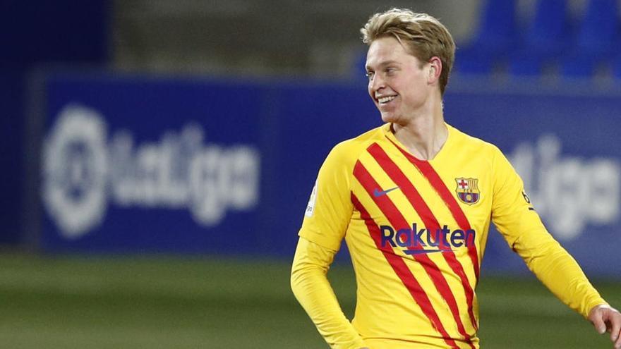 Todos los goles de la jornada 17 de LaLiga: De Jong da la victoria al Barcelona