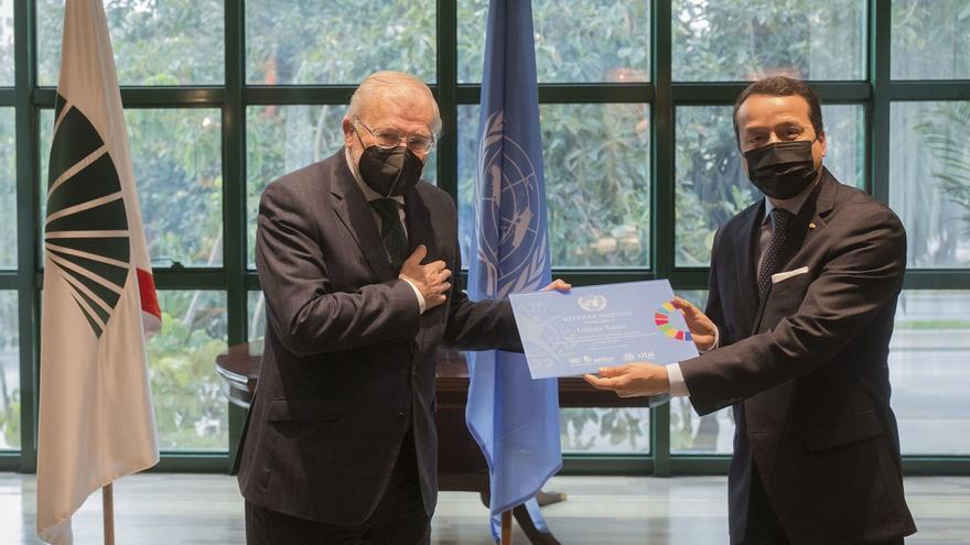 La Agencia Unitar de Naciones Unidas reconoce a Unicaja Banco por su compromiso con  las finanzas sostenibles