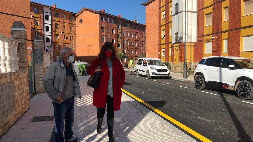 Concluyen las obras de mejora en la calle Bélgica