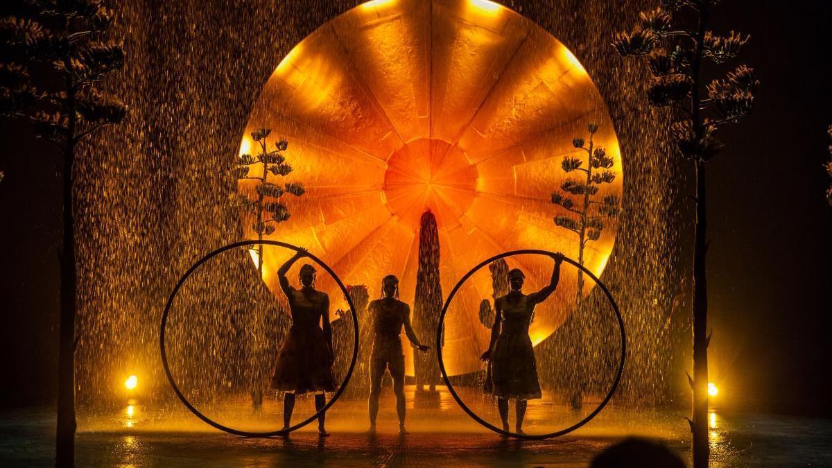 El Circo del Sol estrena en abierto nuevos espectáculos en Cirque Connect.