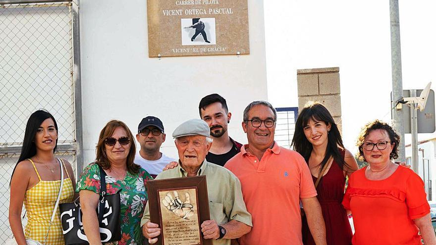 Distinción para Vicent Ortega en Gavarda